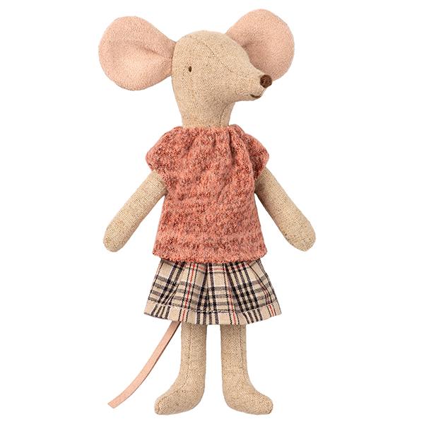 おかあさんネズミ/チェックスカート イメージ画像1