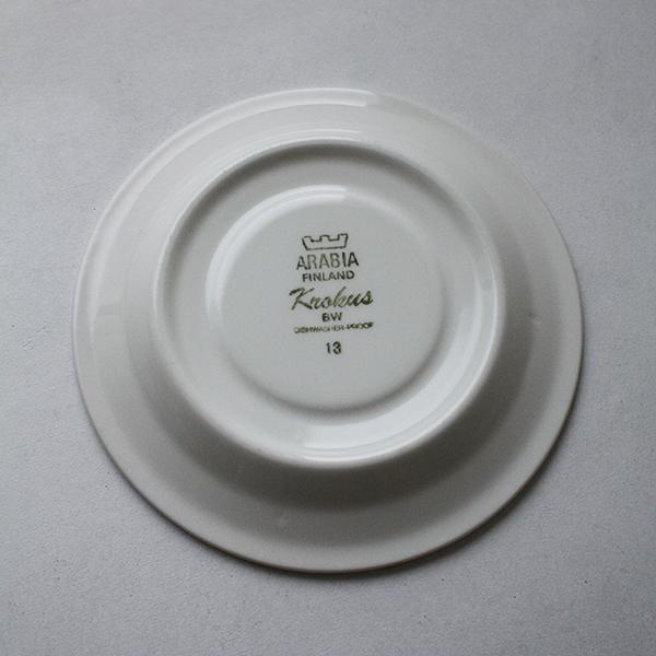 Krokus(クロッカス)モノクロ コーヒーカップ&ソーサー イメージ画像3