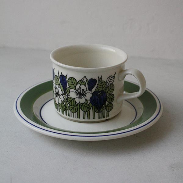 Krokus(クロッカス)カラーコーヒーカップ&ソーサー イメージ画像1