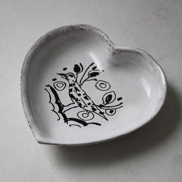 バードハート小皿のイメージ画像