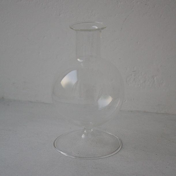 ガラスフラワーベースS