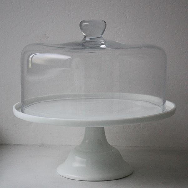 ガラスカバーL&足付きプレート イメージ画像1
