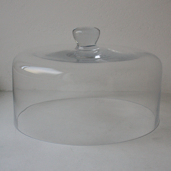 ガラスカバーL&足付きプレート イメージ画像2