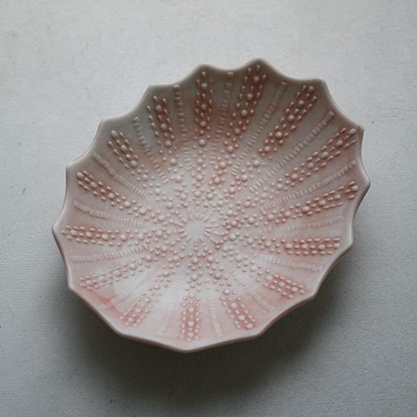 シェルプレート【フジコ】ピンクのイメージ画像