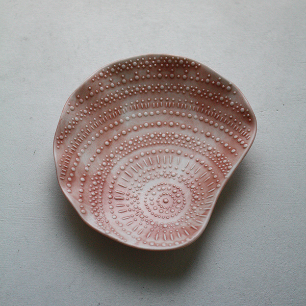 シェルプレート【シャコ】ピンクのイメージ画像