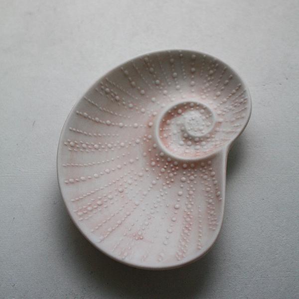シェルプレート【アオイ】ピンク イメージ画像2