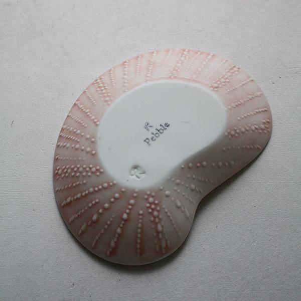 シェルプレート【アオイ】ピンク イメージ画像3