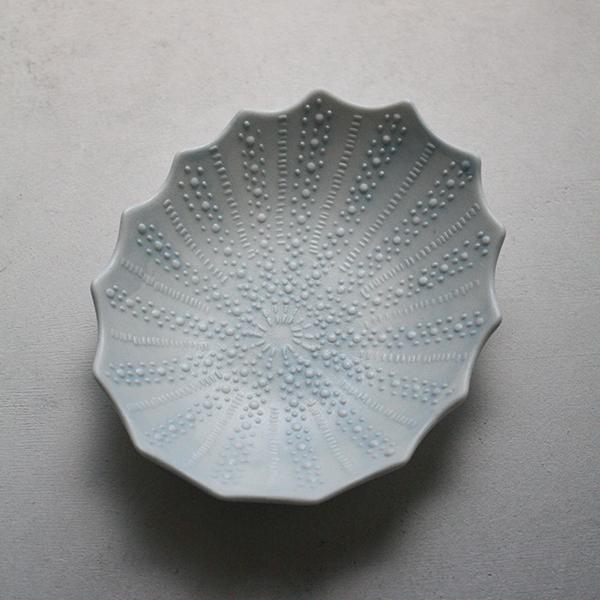 シェルプレート【フジコ】ブルー
