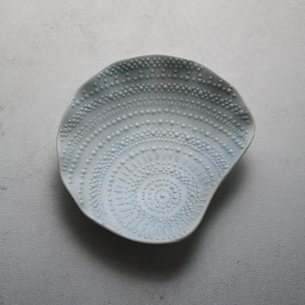 シェルプレート【シャコ】ブルー