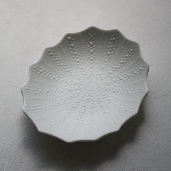 シェルプレート【フジコ】ホワイトのイメージ画像