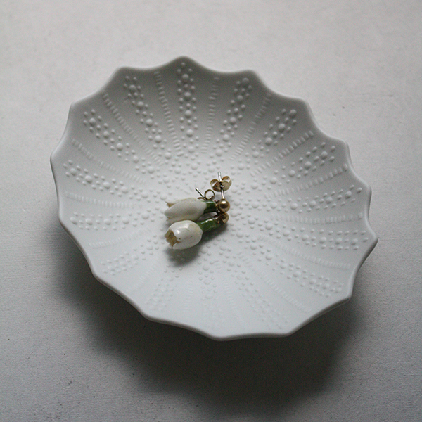 シェルプレート【フジコ】ホワイト イメージ画像1