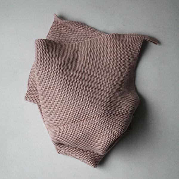 ニットタオル【ピンク】のイメージ画像