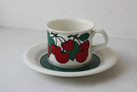 Kirsikka(キルシッカ)コーヒーカップ&ソーサー イメージ画像