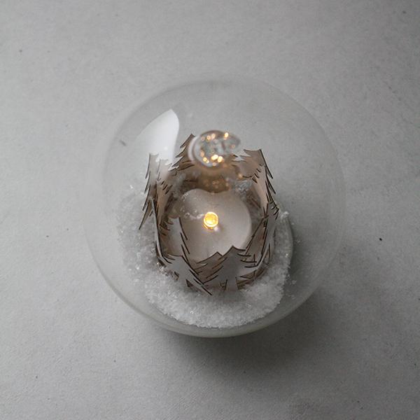 LEDガラスボールオーナメント【ツリー】 イメージ画像2