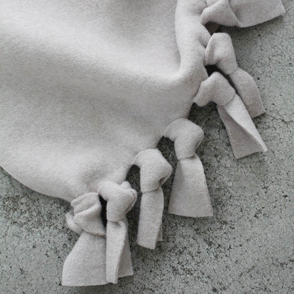 ベビー フリースブランケット【グレージュ】 イメージ画像3