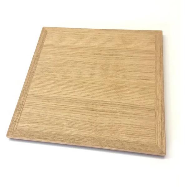 白木塗タモ6.0重箱 内朱 蓋のみ イメージ画像1