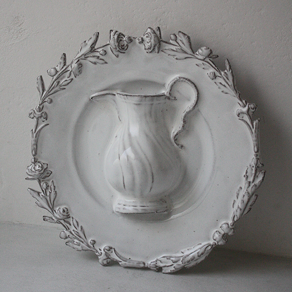 ローズ ピッチャー飾り皿のイメージ画像