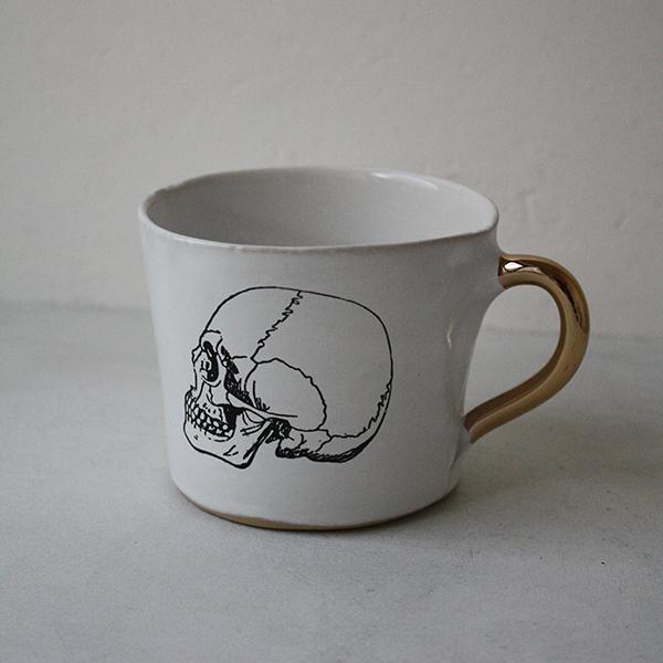 ALICE medium coffee cup 'Glam' スカルのイメージ画像